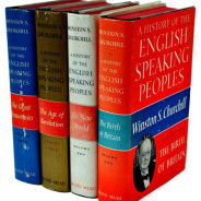 The books that… fill my Churchill shelf. PART 3: History of the English-Speaking Peoples